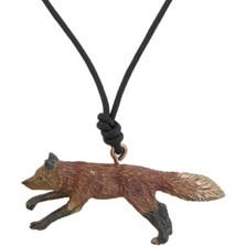 Fox Pendant Necklace | Nature Jewelry