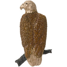 Perched Eagle Pin | Nature Jewelry