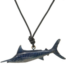 Marlin Pendant Necklace | Nature Jewelry