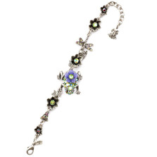 Frog Pewter Bracelet  | Nature Jewelry