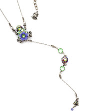 Frog Y Necklace  | Nature Jewelry