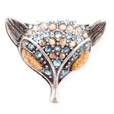 Fox Head Pin  | Nature Jewelry