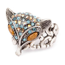 Fox Head Ring  | Nature Jewelry