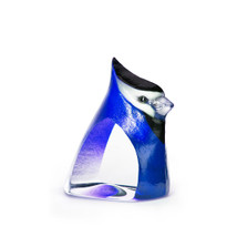 Blue Birdie Painted Crystal Sculpture | 34261