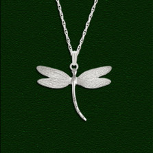 Dragonfly Small Pendant | Nature Jewelry