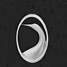 "Egret Pewter Pin ""Marshland""   Nature Jewelry"