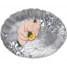 Turkey Holidays Oval Platter