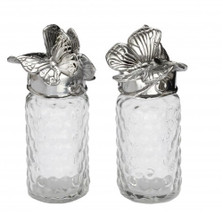 Butterfly Whimsical Salt Pepper Shakers