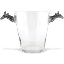 Giraffe Glass Ice Bucket