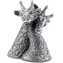 Giraffe Pewter Salt Pepper Shakers