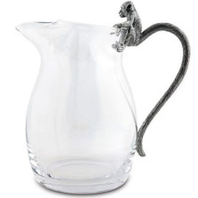 Monkey Glass Pitcher