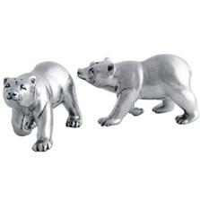 Pewter Polar Bear Salt Pepper Shakers