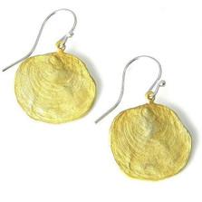 La Mer Petite Drop Wire Earrings | Nature Jewelry