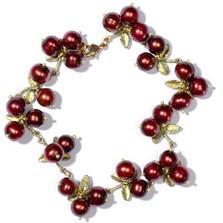 Cranberry Bracelet | Nature Jewelry