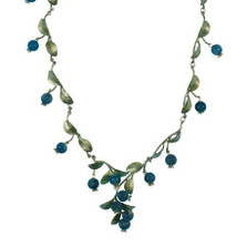 Blueberry Necklace   Nature Jewelry
