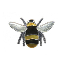 Bumble Bee Cloisonne Pin | Nature Jewelry