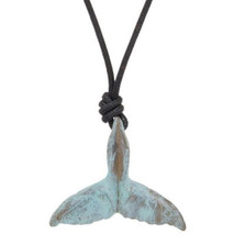 Whale Tail Pendant Necklace | Nature Jewelry