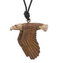 Eagle Flying Pendant Necklace | Nature Jewelry