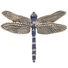 Dragonfly Blue Pin | Cavin Richie Jewelry | DMOKB-354-PIN