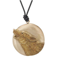 Howling Wolf Pendant Necklace | Nature Jewelry
