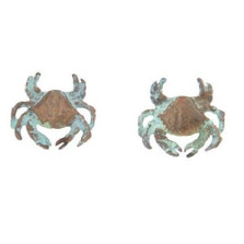 Dungeness Crab Post Earrings | Nature Jewelry