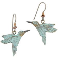 Hummingbird Fishhook Earrings | Cavin Richie Jewelry | DMOKBE-3-FH