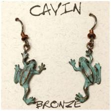 Tree Frog Wire Earrings | Cavin Richie Jewelry | DMOKBE6-FH