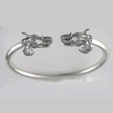 Elephant Sterling Silver Bracelet | Nature Jewelry