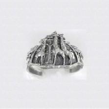 Giraffe Sterling Silver Cuff Bracelet | Kabana Jewelry | Kbr198