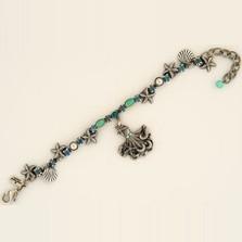 Octopus Charm Bracelet | Nature Jewelry