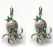 By the Sea Octopus Earrings | Nature Jewelry
