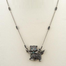 Glamour Kitty Pendant Necklace | Nature Jewelry
