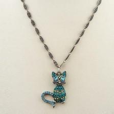 Glamorous Kitty Necklace | Nature Jewelry