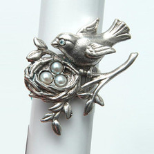 Primavera Bird Ring | Nature Jewelry