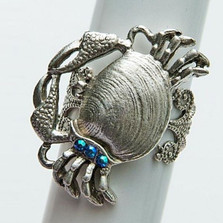 By the Sea Crab Ring | Nature Jewelry