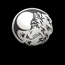 Wolf Seeker Sterling Silver Pendant Necklace   Nature Jewelry
