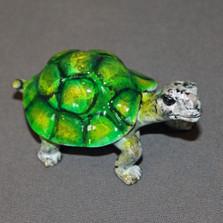 Turtle Baby Bronze Sculpture