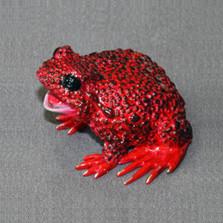 """Frog Bronze Sculpture """"Boobala"""""""