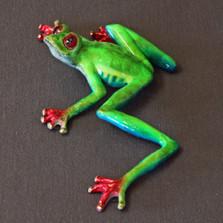 "Frog Bronze Sculpture ""Casanova"""