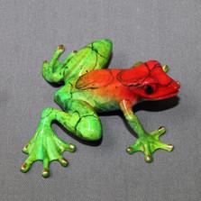 """Frog Bronze Sculpture """"Chica"""""""