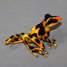 "Frog Bronze Sculpture ""Delilah"""