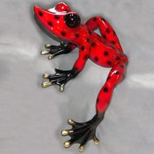 """Frog Bronze Sculpture """"Elexess 26"""""""
