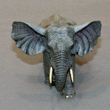 "Elephant Bronze Sculpture ""Bull"""