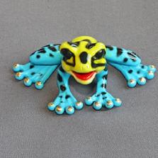 """Frog Bronze Sculpture """"Jocelinda"""""""