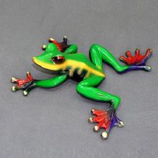 """Frog Bronze Sculpture """"Kookala"""""""