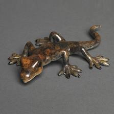 Lizard Bronze Sculpture