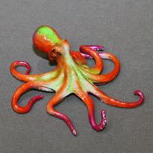 """Octopus Bronze Sculpture """"Ophelia"""""""