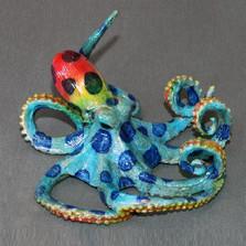 """Octopus Bronze Sculpture """"Oscar"""""""