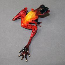"""Frog Bronze Sculpture """"Samson"""""""