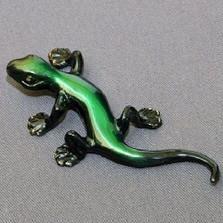 Lizard Bronze Sculpture Small